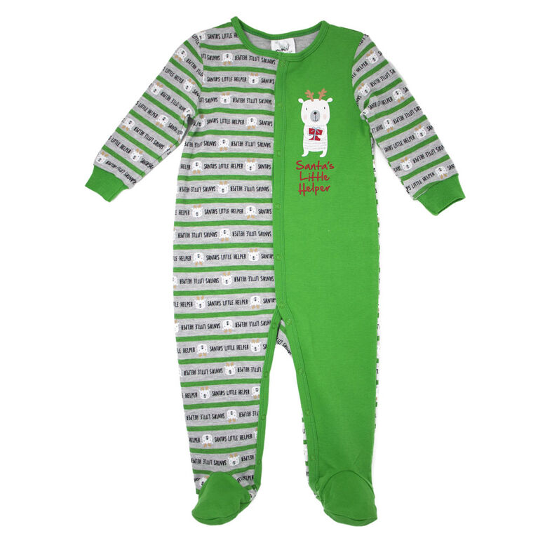 Koala Baby Holiday Footed Sleeper 12M