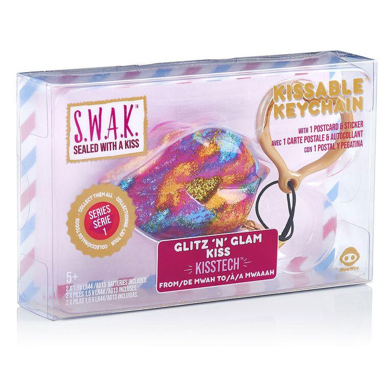 S.W.A.K. - Interactive Kissable Key Chain - Glitz N'' Glam Kiss - By WowWee