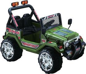 Kidsquad Wrangler Style 12V Green