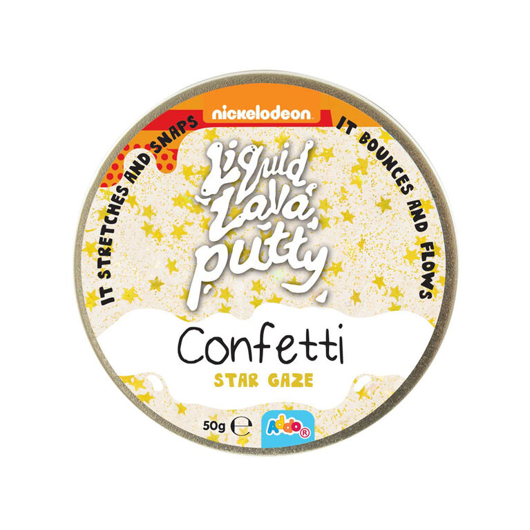 Nickelodeon Liquid Lava Putty Confetti - Star Gaze - R Exclusive