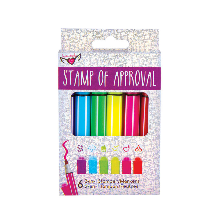 Fashion Angels - Stamp of Approval Stamping Markers
