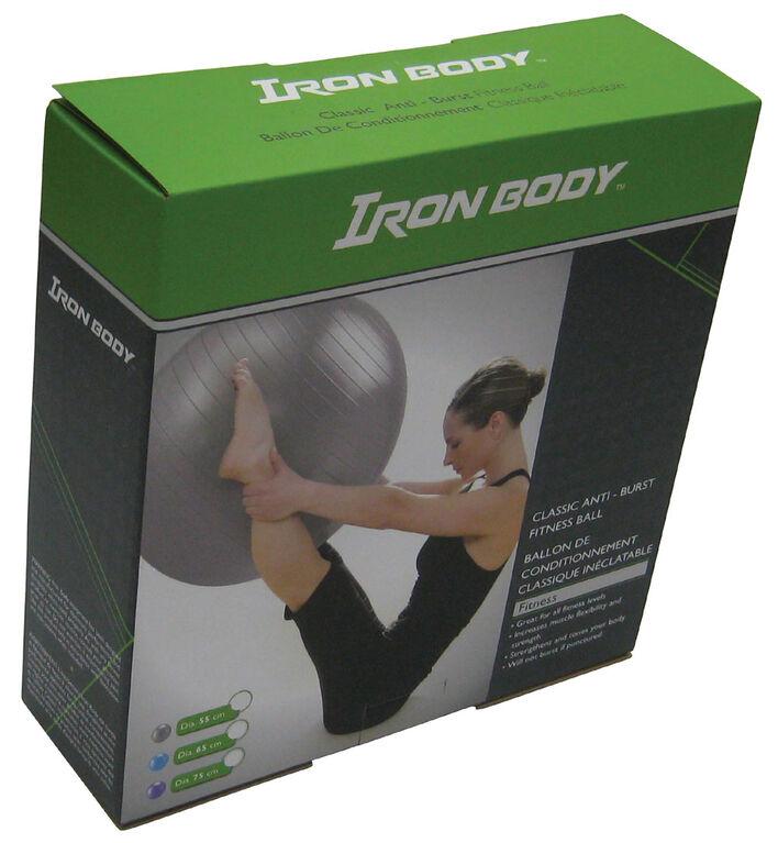 Iron Body Fitness IBF - 55cm Classic Fitness Ball - Anti-Burst