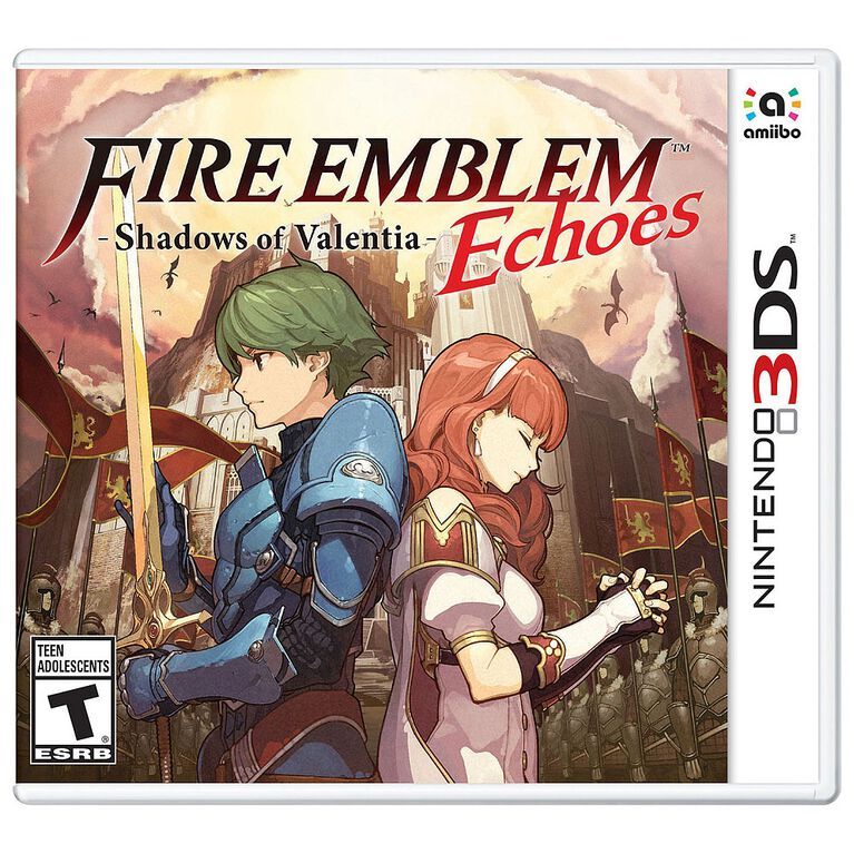 Nintendo 3DS - Fire Emblem Echoes: Shadows of Valentia