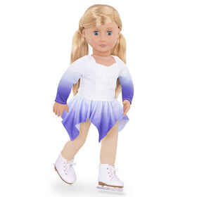 Our Generation, Katelyn, 18-inch Posable Ice Skating Doll