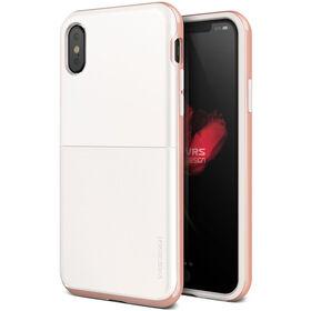 Vrs Design High Pro Shield Case for iPhone Xs / X White/Rose Gold (VRSIP8HPSWR)
