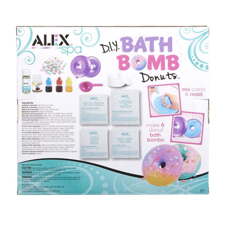 ALEX Spa - D.I.Y Bath Bomb Donuts