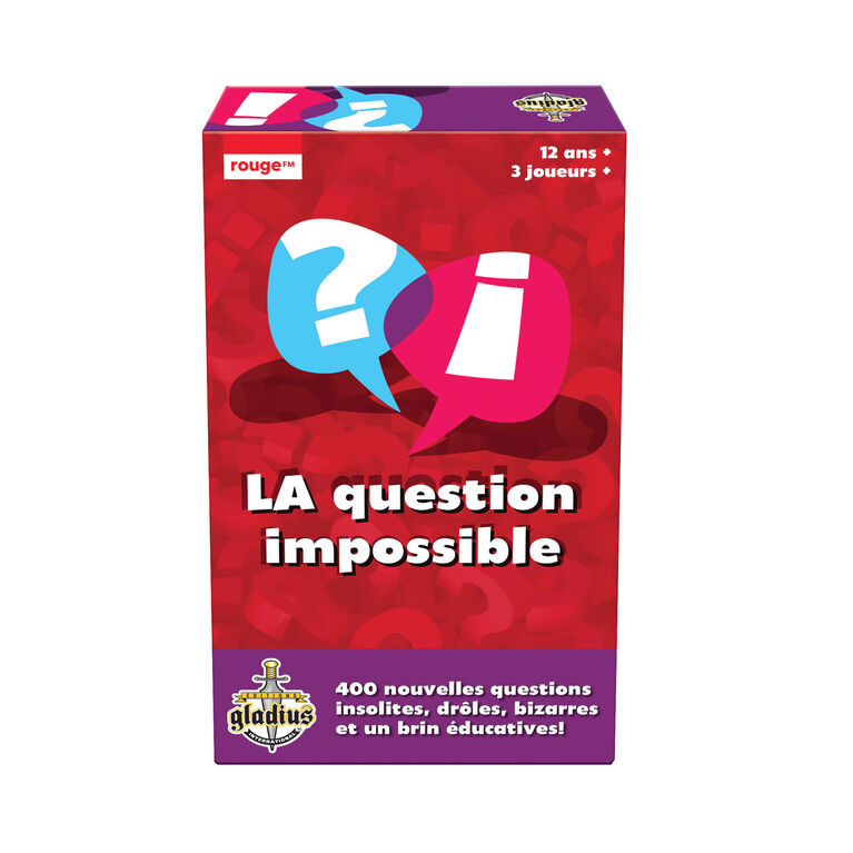 Question Impossible 2 French Edition