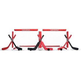 Road Warrior -  Mini Hockey Two Goal Combo Set