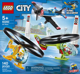 LEGO City Airport La course aérienne 60260