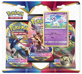 Pokemon Sword & Shield 3-Pack Blister - Galarian Ponyta