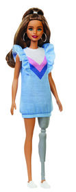 Barbie Fashionistas Doll #121 - Denim Dress.