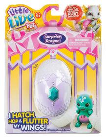 Little Live Pets - Surprise Dragon - Blue/Green