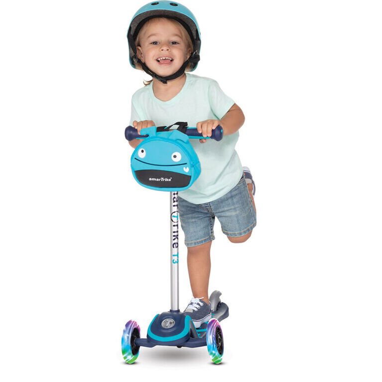 smarTrike T3 2 Stage scooTer - Blue