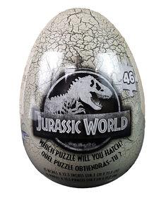 Puzzle mystère Jurassic World de 46 pièces dans un emballage d'oeufs