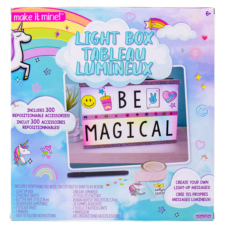 Make It Mine Light Box - R Exclusive