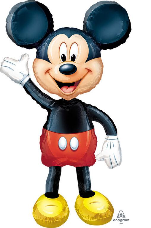 """Grand Ballon Métallique """"Airwalker"""" Mickey Mouse"""