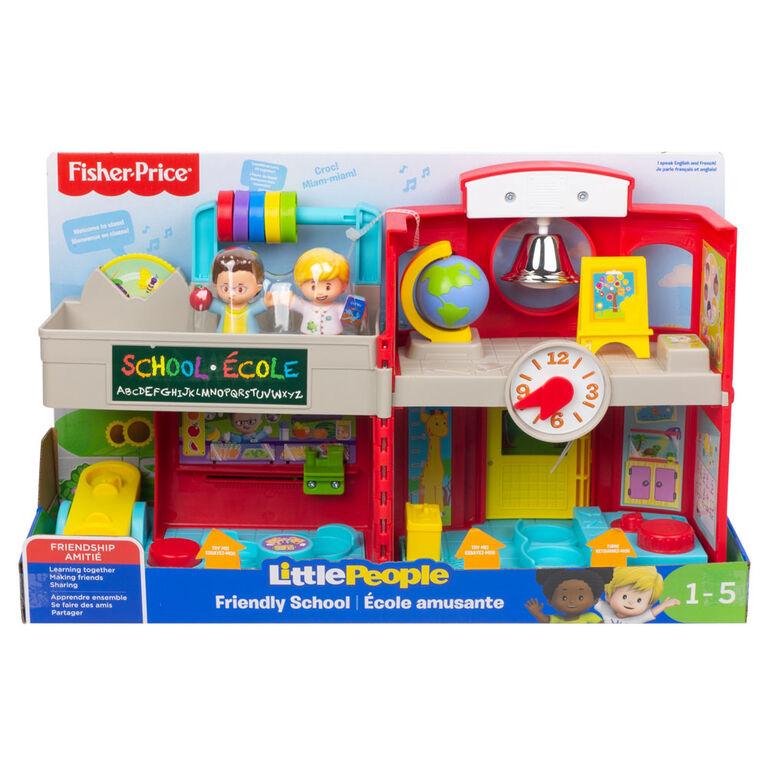 Fisher-Price - Little People - École amusante -Édition bilingue