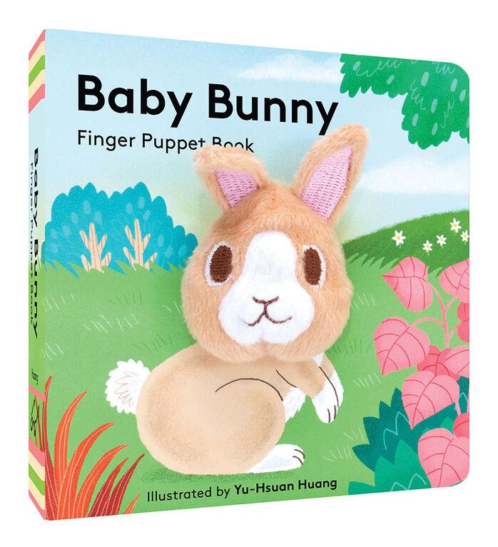 Baby Bunny: Livre de marionnettes à doigt