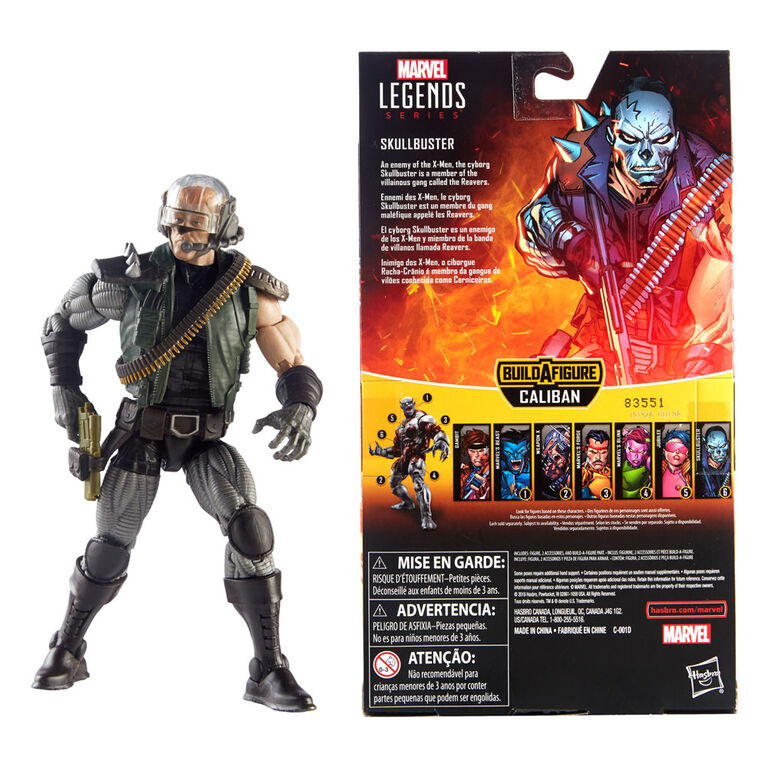 Marvel Legends Series 6-inch Skullbuster (X-Men Collection)