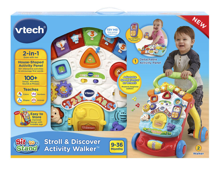 VTech® Stroll & Discover Activity Walker™ - English Edition