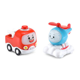 VTech Tut Tut Cory Bolides Zone Surprise Freddie & Alice Mini - French Version