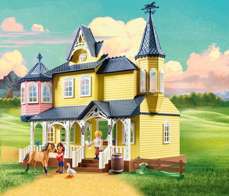 Playmobil - Spirit Lucky's Happy Home (9475)