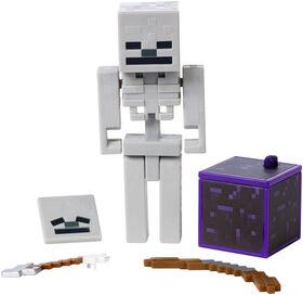 Minecraft Comic Maker Skeleton Action Figure - English Edition