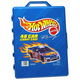 Hot Wheels - 48 Car Vehicle Carry Case - Styles vary