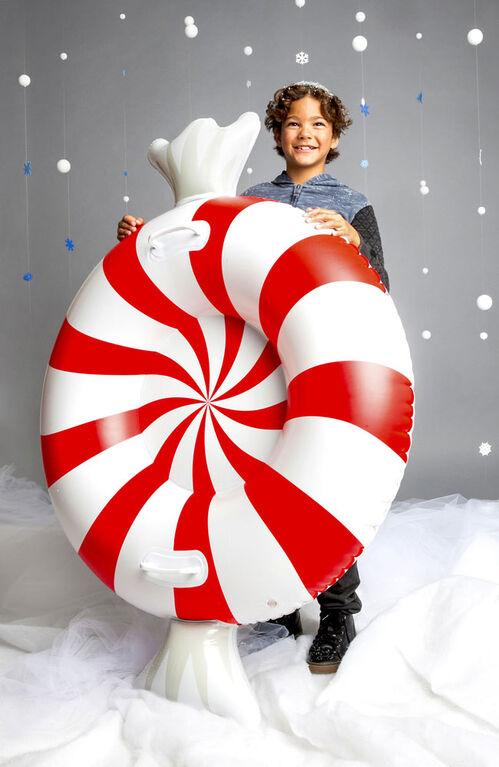 BigMouth Inc Grosse Chambre A Air Pour La Neige, en forme de bonbon à la menthe