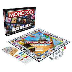 PRE-ORDER, SHIPS Aug 10, 2021 - Monopoly: Roblox 2022 Edition Board Game
