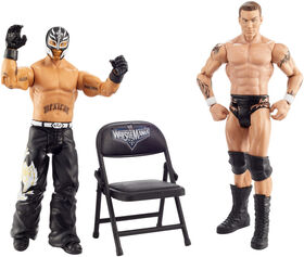 WWE - WrestleMania - 2 figurines Randy Orton vs Rey Mysterio