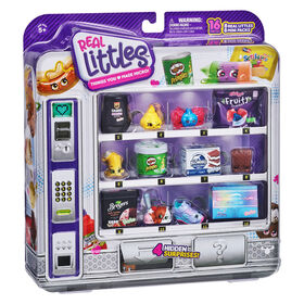 Shopkins Distributeur Automatique Real Littles - Paquet De 8 du Collectionneur