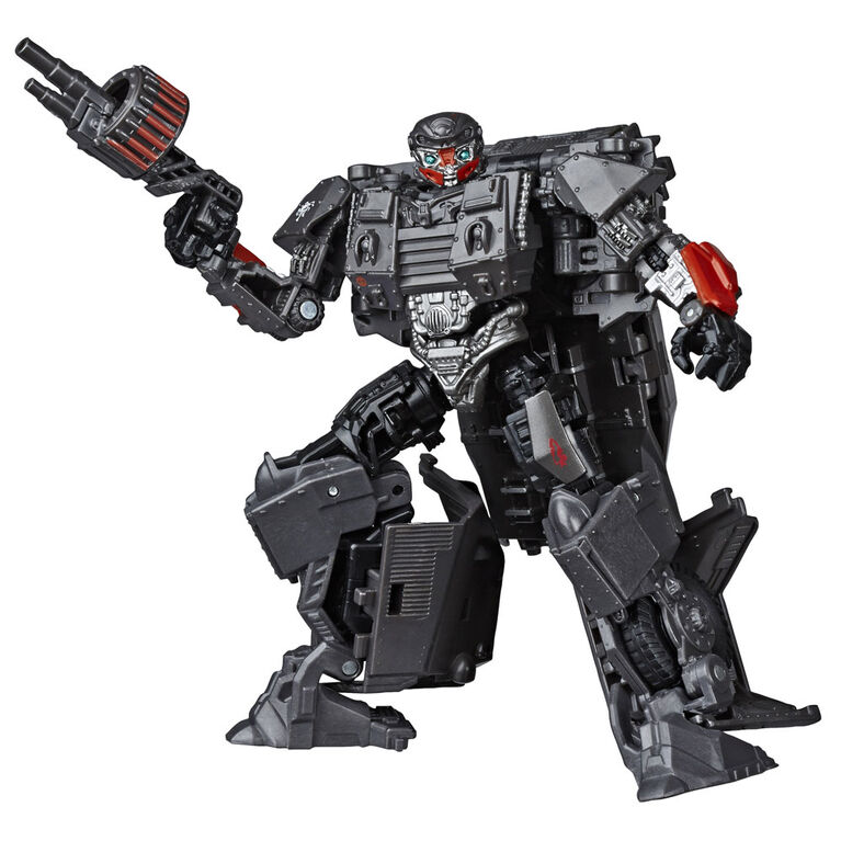 Transformers Toys Studio Series 50 Deluxe Transformers: The Last Knight Movie WWII Autobot Hot Rod - 4.5-inch