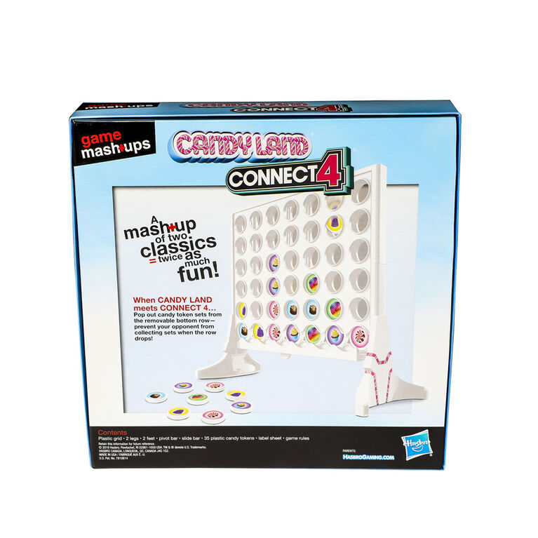 Game Mashups Candy Land Connect 4 - English Edition - R Exclusive