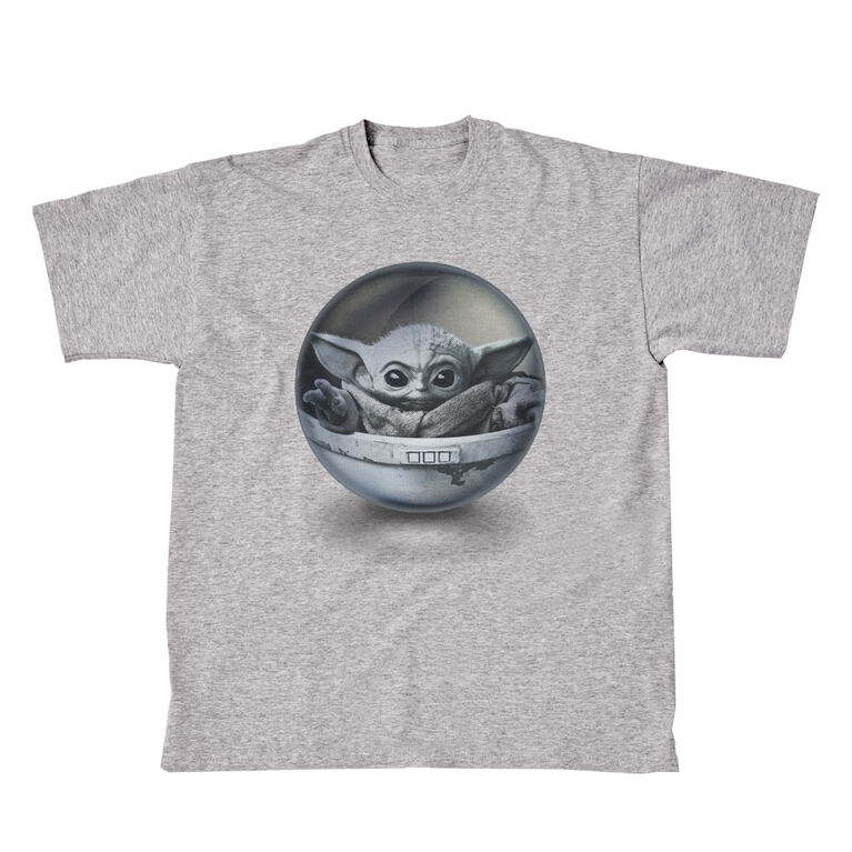 Star Wars: Mandalorian T-Shirt - Grey Small