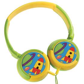 Volkano - Kids Swivel Headphones - Boys Junior Explorer