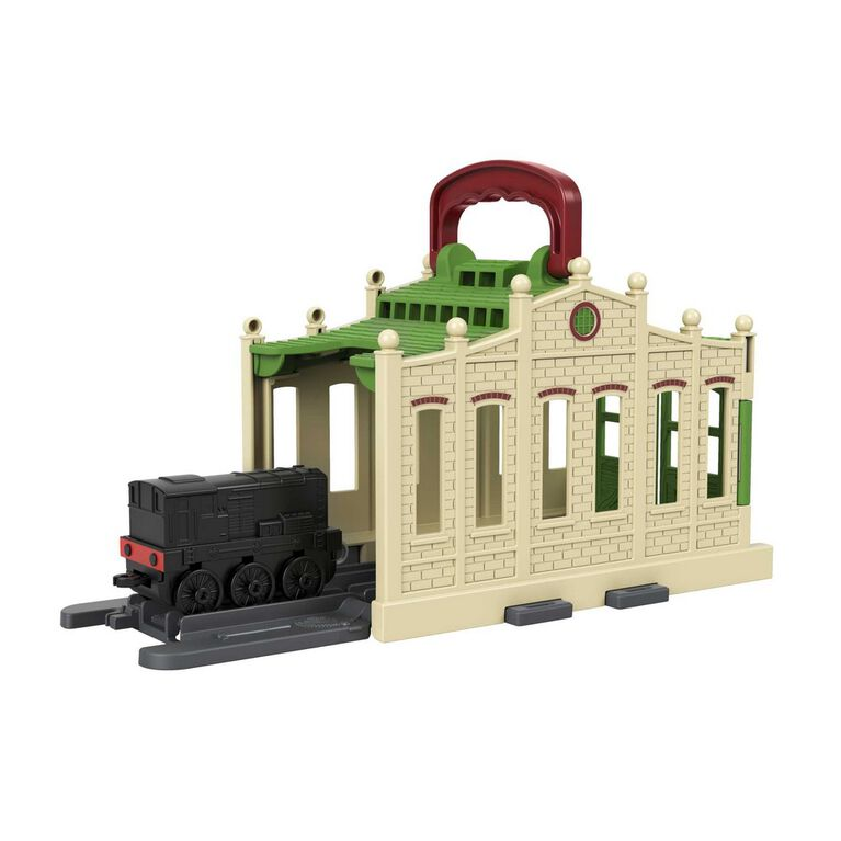 Fisher-Price Thomas & Friends Connect & Go Diesel Shed - English Edition