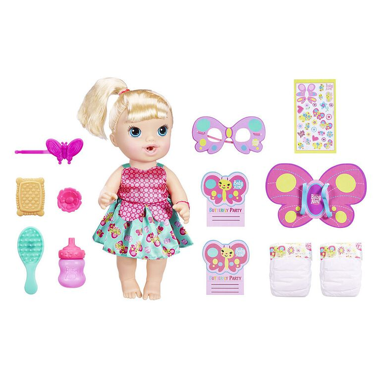 Baby Alive Briannas Butterfly Party - R Exclusive