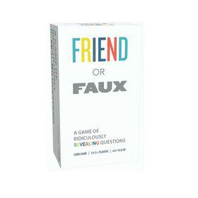 """Pressman Toys: Jeu """"Friend or Faux"""" - Seulement en anglais."""