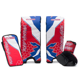 "Road Warrior 21"" Street Hockey Goalie Set"