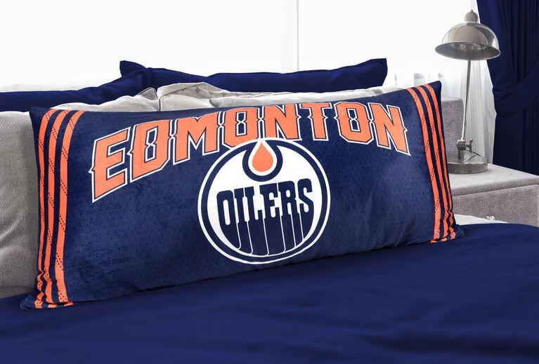 NHL Body Pillow - Edmonton Oilers