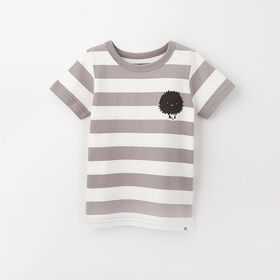 little styler graphic tee, 3-4y - light grey