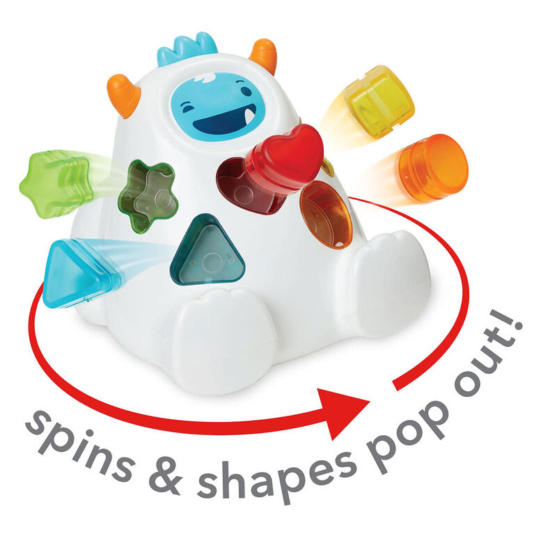 Skip Hop Sort & Spin Yeti