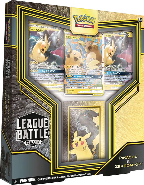 Deck De La Ligue De Combat Pokémon - Pikachu Et Zekrom-Gx