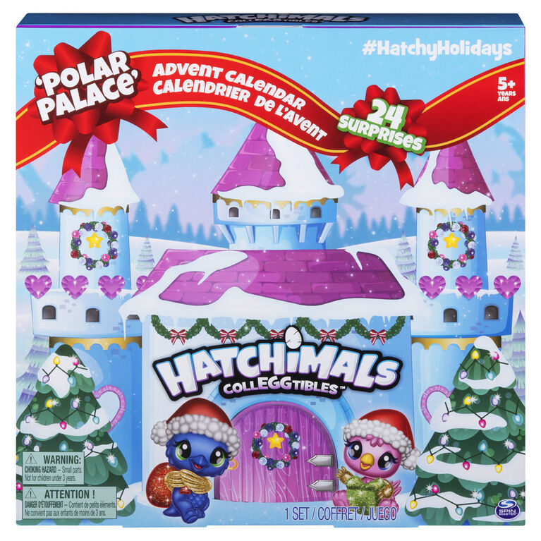 Hatchimals CollEGGtibles - Advent Calendar with Exclusive Characters and Paper Craft Accessories