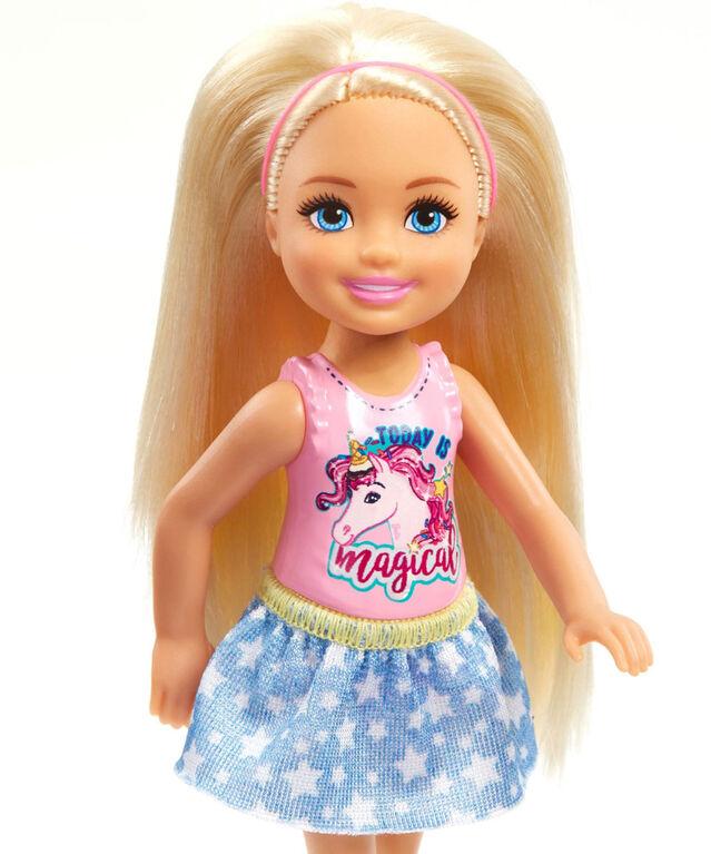 Barbie - Club Chelsea - Poupée Chelsea - Blonde.