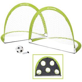 Viva Active 2 Pack Pop Up Soccer Goal