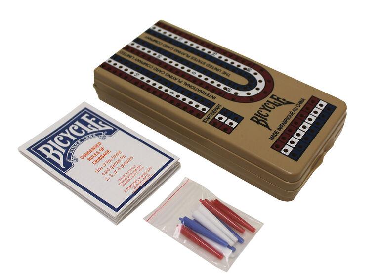 Crib Game Folding Board