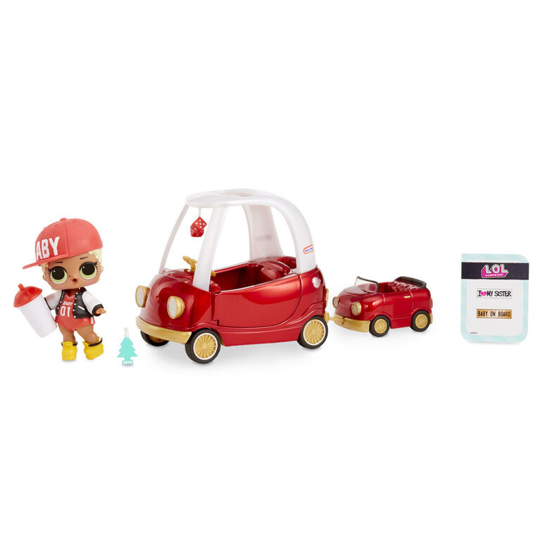 L.O.L. Surprise! Furniture - Cozy Coupe with M.C. Swag Doll and 10+ Surprises