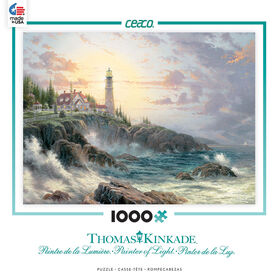 Ceaco - Thomas Kinkade 1000 Pieces Puzzle - Clearing Storms